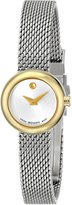 "Movado Women's 0606779 ""Dot"" Gold-Plated Dress Watch"