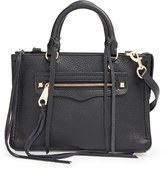 Rebecca Minkoff 'Micro Regan' Satchel - Black
