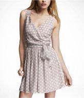 Express Surplice Elastic Waist Dress