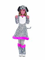 Dreamgirl I'm Seeing Spots Dalmatian Dog Costume for Kids