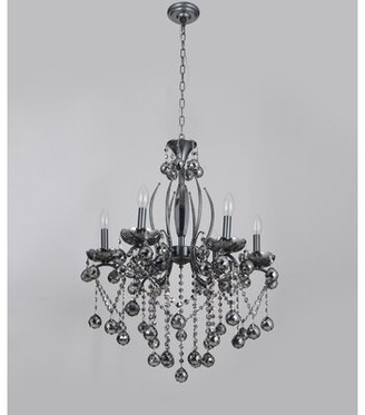 Karlstad House Of Hampton 6-Light Candle Style Classic / Traditional Chandelier House of Hampton