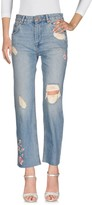 Anine Bing Denim pants - Item 42649757