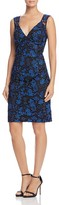 Aidan Mattox Embroidered Lace Dress