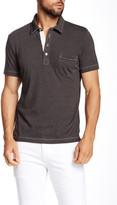 Billy Reid Pensacola Short Sleeve Polo