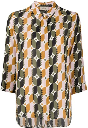 Altea Geometric Print Shirt