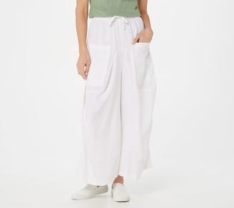 Peace Love World Liz Linen Crop Pants