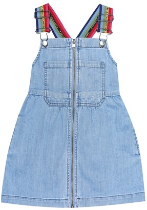 Stella McCartney Denim pinafore dress