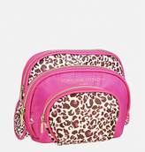 Avenue Leopard Cosmetic Bag Set