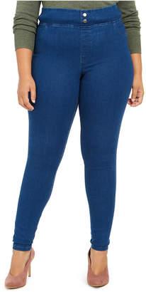 Hue Plus Size Original Smooth Denim Leggings