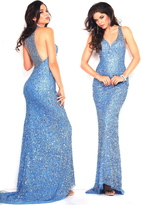 Scala 48411 Dress In Sky Blue