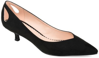 Journee Collection Goldie Kitten Heel Pump