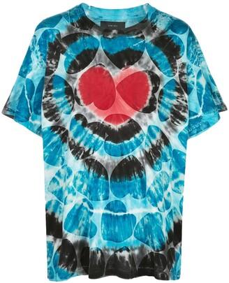 Amiri tie-dye print T-shirt