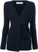 D-Exterior D.Exterior - side tie cardigan - women - Polyamide/Spandex/Elastane/Wool/Yak - XS