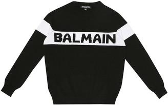 Balmain Kids Cashmere sweater