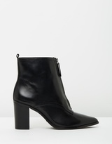 Schutz Natalia Block Ankle Boots