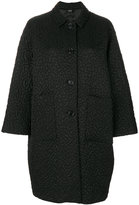 Aspesi textured oversized coat