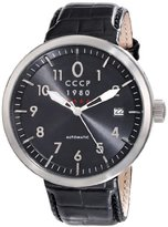 Cccp Men's CP-7008-01 Kashalot Analog Display Automatic Self Wind Black Watch