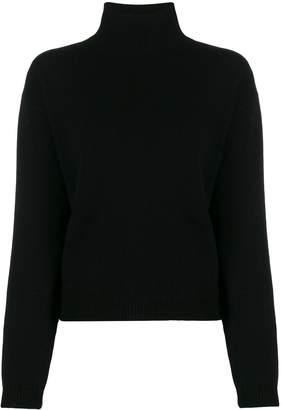 Majestic Filatures soft knit turtleneck jumper