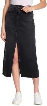 Rag & Bone Clyde Denim Vented Maxi Skirt