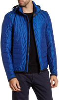 HUGO BOSS Jelger Zip Out Hood Quilted Jacket