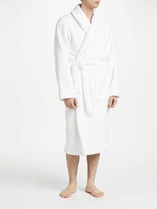 John Lewis & Partners Towelling Cotton Robe, White