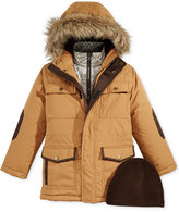 Hawke & Co Vestee Parka with Faux-Fur Trim, Little Boys (2-7)