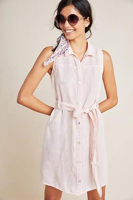 Cloth & Stone Sleeveless Linen Shirtdress