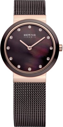 Bering Time Women's Ceramic Watch XS Analog Quartz Stainless Steel 10725262