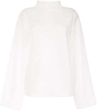 Dion Lee Transparent Loose-Fit Sweatshirt