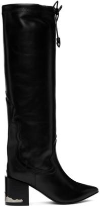 Toga Pulla Black Drawstring Boots