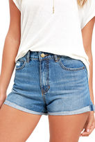 Billabong Overdrive Medium Wash Denim Shorts
