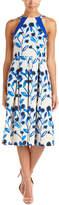 Eva Franco Linen-Blend Midi Dress