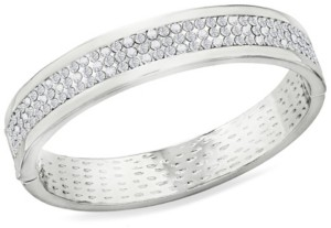 Zaxie by Stefanie Taylor Zaxie High Society Pave Hinged Bangle Bracelet