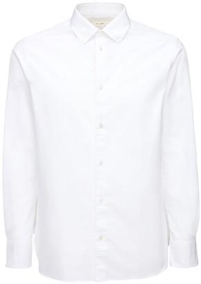 The Row Cotton Oxford Button Down Shirt