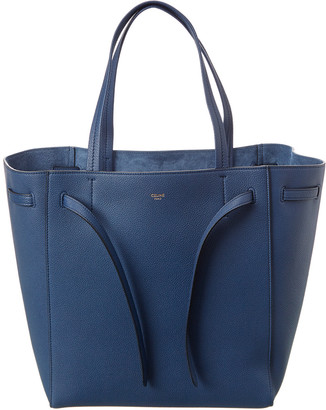 Celine Small Cabas Phantom Leather Tote