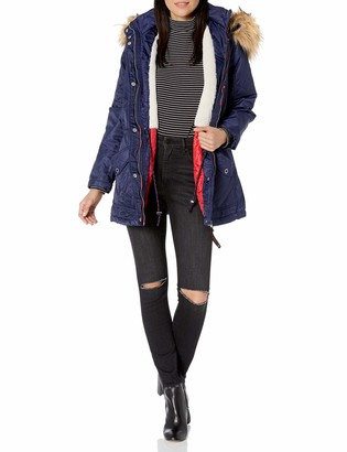 Urban Republic Women's Juniors Poly-Twill Jacket