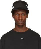 Off-White Black Diagonal Brushed Cap