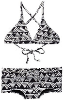 Billabong Geo Delight Two-Piece Triangle Swimsuit (Little Girls & Big Girls)