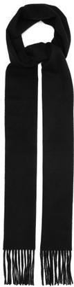 Acne Studios Canada Skinny Wool Scarf - Womens - Black