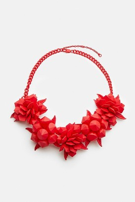 Coast Colour Pop Floral Statement Necklace
