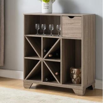 Charlton Homeâ® Heid Wine Rack Charlton HomeA