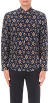 Gucci Paisley Print Silk-georgette Shirt