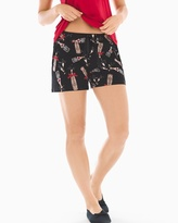 Soma Intimates Pajama Shorts Cheers To Us Black