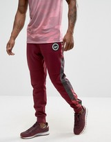 Hype Cuffed Joggers With Rose Panels