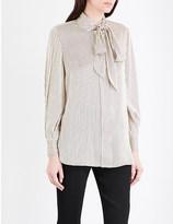By Malene Birger Aluda striped crepe shirt