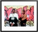Sonic Editions Eric B. & Rakim Graffiti Wall by Waring Abbott (Framed)