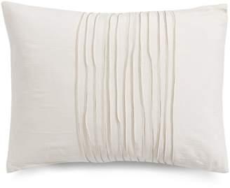 Vera Wang Striped Rectangular Cotton Decorative Pillow