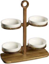 Villeroy & Boch BBQ Passion Collection 5-Pc. Bowl Tray Stand