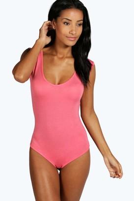 boohoo Basic Sleeveless Bodysuit