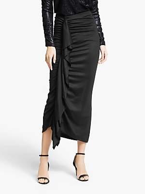Modern Rarity Paula Knorr Ruffle Skirt, Black